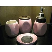 Wholesale Under glazed color ensembles Ceramic Bath Accessories sets for shower fittings from china suppliers
