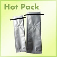 Buy cheap Clear Resealable Plastic Tin Tie Packaging Coffee Bags , Foil Gusseted Coffee Bags from wholesalers