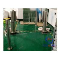 Buy cheap Untouchable Handicap Turnstile Cylinder Automatic Barrier Gate 24V Brush DC Motor from wholesalers