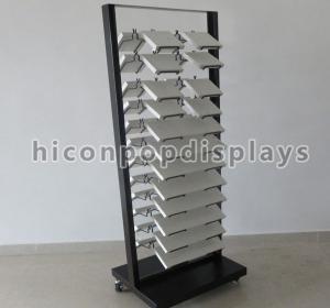 Acrylic Floor Tiles Display Racks Manufactures