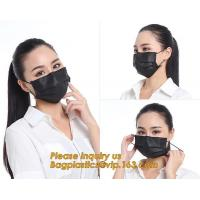 Buy cheap Health & Medical PP 3 Layers Competitive Price Clear Face MaskSurgical Masks Black Factory Direct Supply FDA Approval Me from wholesalers
