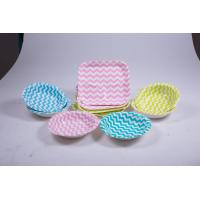 China Food Contact Safe Eco Friendly Paper Plates For Wild Camping Barbecue on sale