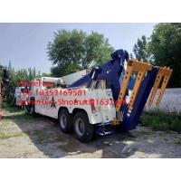 Buy cheap 360 Degree Rotation Crane Wrecker Tow Heavy Cargo Truck For Broken Car Tow from wholesalers