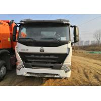 Buy cheap White Howo 6x4 Tipper Truck 3 Axle Dump Truck Heavy Duty 30 Tons Loading from wholesalers