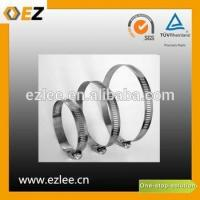 Buy cheap german style galvanized hose clamp from wholesalers