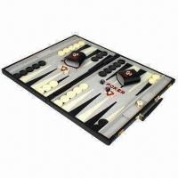 Buy cheap Traveling Backgammon Game Board, Made of Genuine Cow Leather from wholesalers