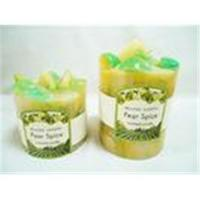 Buy cheap Customized Party Favors Decorative Fruit Pillar Perfume Scented Candles from wholesalers