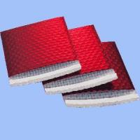 Wholesale Red Padded Bubble Envelope with Poly Film from china suppliers