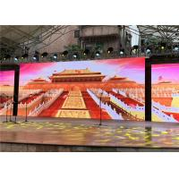 Buy cheap Outdoor LED Video Wall HD PH4.81mm For Outdoor Indoor Stage Event from wholesalers