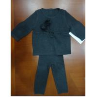 Buy cheap 3 Years Old Girls Knit Pajamas Set , Top And Pants Kids Loungewear Sets Spring Wear from wholesalers
