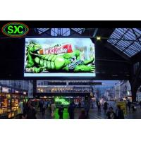 Buy cheap Stadium / Station Indoor P4.81 Smd Curtain Advertising LED Display 250*250mm from wholesalers