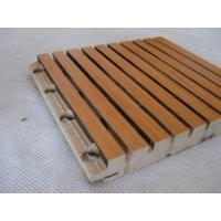 Buy cheap Wood Grooved Acoustic Panel from wholesalers