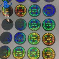 Buy cheap 3D Hologram Labels Stickers Heat Resistant With Strong Sealing Performance from wholesalers