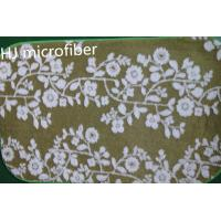Buy cheap Green printed flower Microfiber Mat 40*60 floor bathroom memory  foam mat carpet from wholesalers