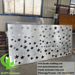 Buy cheap Laser cut metal facade aluminium cladding sheet for building facade exterior decoration from wholesalers