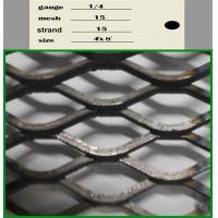 Buy cheap Aluminium Expanded Wire Mesh , Decorative Expanded Metal Mesh 0.3mm-8mm Thickness from wholesalers
