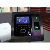 Buy cheap Professional Face Turnstile Security Systems , Fingerprint Attendance Machine from wholesalers