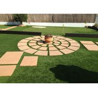 Buy cheap Safe Residential Artificial Grass Non Infill PU Coating Environmentally Friendly from wholesalers