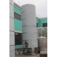 316L PU Stainless Steel Insulated Storage Tanks Dimple Jacket Used For Beer Storage Manufactures