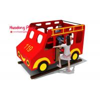 Buy cheap Toddler HDPE  Playground Bus Style Engineering Plastics High Strength Long Life Span from wholesalers