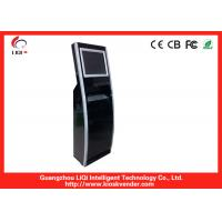 Buy cheap 19 Bill Payment Kiosk With EMV Certified Motorized Magnetic And Smart Card Reader from wholesalers