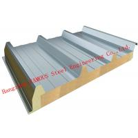 Buy cheap Recycled Usage Fire Resistant Rock Wool Sandwich Panels Easy Installation Roof Systems from wholesalers