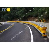 Buy cheap Pu foam safety roller barrier system With hole bolts nuts traffic accidents from wholesalers