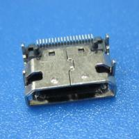 Buy cheap MINI HDMI C TYPE 19 PIN Female 90 degree with SMT, micro HDMI CONNECTOR from wholesalers