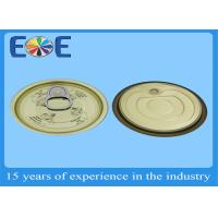 Metal Container Easy Open Can Lids 65mm Tinplate For Canned Tuna Fish Manufactures
