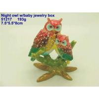 Buy cheap Night Owl W/Baby Jewelry Box from wholesalers