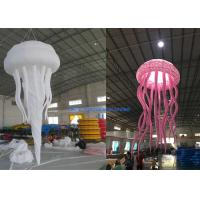 Buy cheap 1.6m Dia Night Club Inflatable Advertising Balloon Decorative Night Light Jellyfish from wholesalers