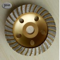 Buy cheap Diamond grinding wheel:125mm diamond turbo cup wheel for stone from wholesalers