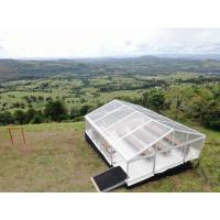 Buy cheap Outside Clear Span Tent , White Marquee Corporate Event Tent Cement Floor from wholesalers