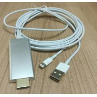 HDTU CABLE for IPad/IPh5/IPh5s/IPh6/IPh6 plus/ IPh 6s/ IPh6s plug, 2 Meters Manufactures