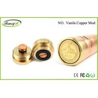 Quality Rechargeable Mechanical Mod E Cig Vanilla Copper Mod Clone 1000 Puffs CE ROHS FCC for sale