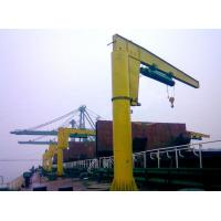 Buy cheap BX type manually rotating wall jib crane from wholesalers