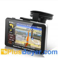 Buy cheap RadarBot - GPS Navigator with Speed Radar Detector (5 Inch, FM Transmitter) from wholesalers