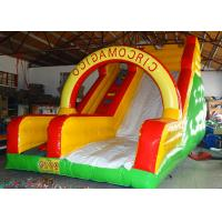 Wholesale Custom Mixed Color Big Children Inflatable Dry or Wet Slide Bouncer Slide Inflatable from china suppliers