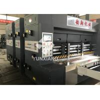 Buy cheap YIKE Automatic Flexo Printer Slotter Machine 80pcs/min With Auto Stacker Pass ISO,CE from wholesalers