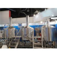 Buy cheap 1000L 10HL 10BBL SUS 304/316 Cider Equipment Microbrewery Equipment System from wholesalers