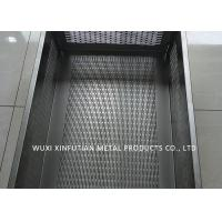 Buy cheap Tank Laser Cutting Holes Stainless Steel Sheet Metal Finishes For Filtering Water from wholesalers