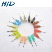 Buy cheap Disposable PP Glue Syringe Needle With Burr Free Polished Flexible Pin from wholesalers