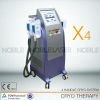 Buy cheap cryolipolysis 4 cooling handle pieces with vacuum  perfectly losing weight from wholesalers