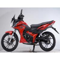 Wholesale Chain Drive Red Honda Motorbike Wind Cooled , Kick Start from china suppliers