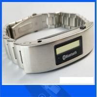 Buy cheap steel bluetooth bracelet with OLED caller's ID display from wholesalers