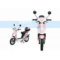 Buy cheap 350W EEC Electric Scooter with pedals , Electric brushless hub motor motorcycle from wholesalers