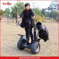 Buy cheap Rooder powerful 2 wheels 2 wheels electric chariot with golf bag holder from wholesalers