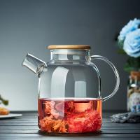 Buy cheap Eco-Friendly Feature and Coffee Tea Sets Drinkware Type glass tea pot from wholesalers