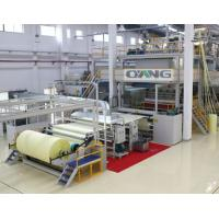 Single Beam PP Non Woven Fabric Making Machine / Production Line high strength Manufactures