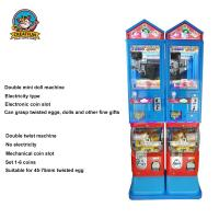 Buy cheap Large Bubble Gumball Vending Machine With Stand 25-35mm Twisted Egg from wholesalers